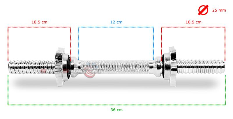 Gryf Tytan Sport 36 cm / 26 mm, sklep sportowy dzierżoniów